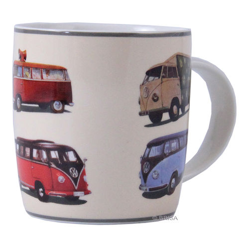 Kaffeetasse 370 ml VW Bulli Parade