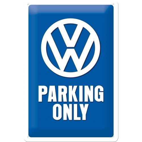 Blechschild VW Parking only 20x30cm
