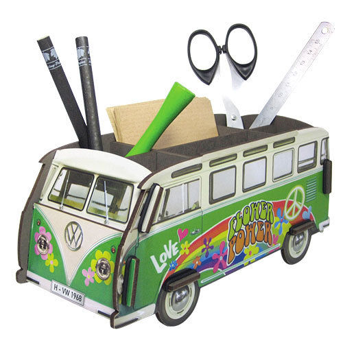 Stiftebox VW Bulli Hippie 2. Wahl